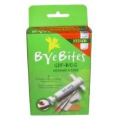 Bye Bites Gif-weg uitzuigpomp en verzorgingsart.