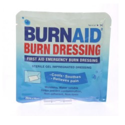 Burn Aid brandwonden kompres 10x10 cm